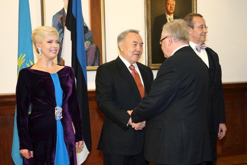 Evelin Ilves meenutab Kasahstani presidendi Nazarbajevi visiiti: Nursu oli rabatud! Isegi ta silmad olid veekalkvel