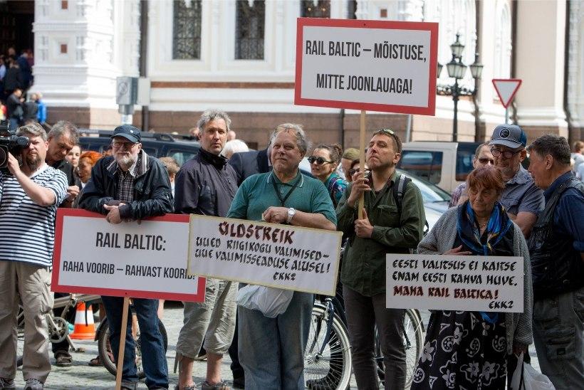 Juhan Telgmaa   Võimuliit tõmbab Rail Balticule pidurit?