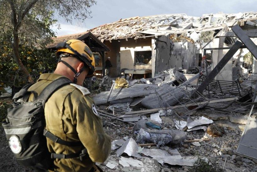 JÄRSK PINGEKASV: Gaza sektorist tulistatud rakett purustas Tel Avivi lähistel elumaja. Iisrael andis jõulise vastulöögi