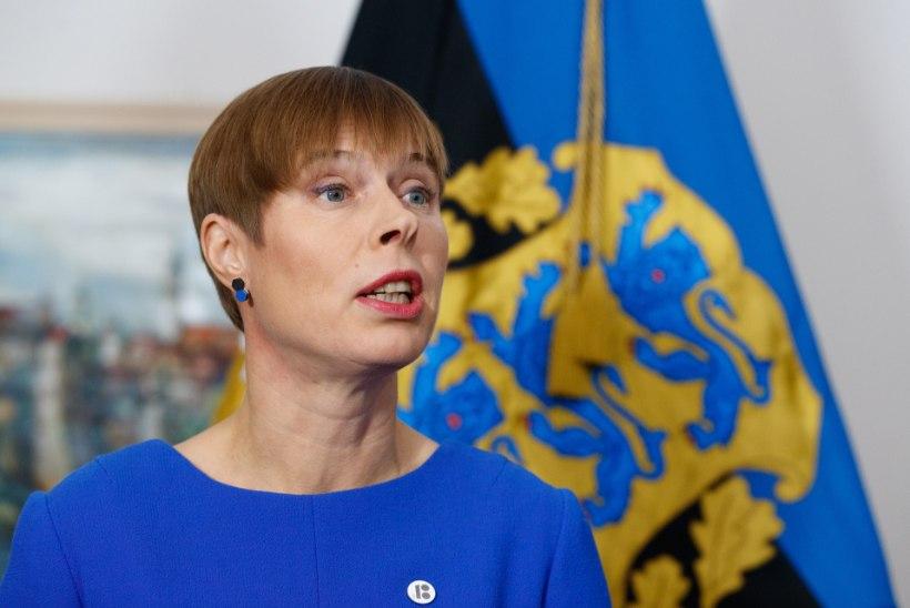 Kersti Kaljulaid:  hoiame meie iseseisvust, et kurjus enam kunagi meie inimeste ustele ei koputaks