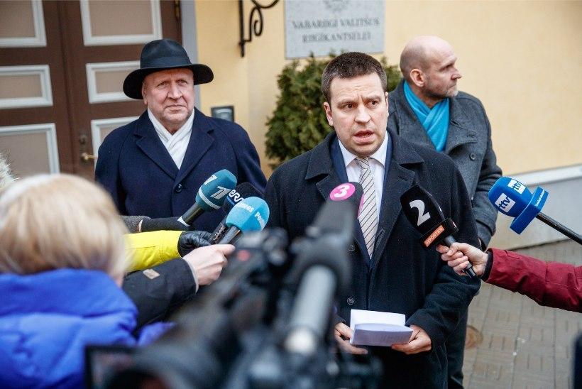 Ratase sõnul arutasid koalitsiooni moodustajad eelarveteemasid