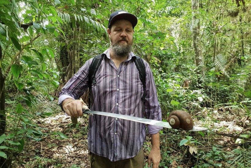 Genka: kui jõudsin džunglisse, sain kohe nõelata, kõrvetada ja midagi läks silma ka