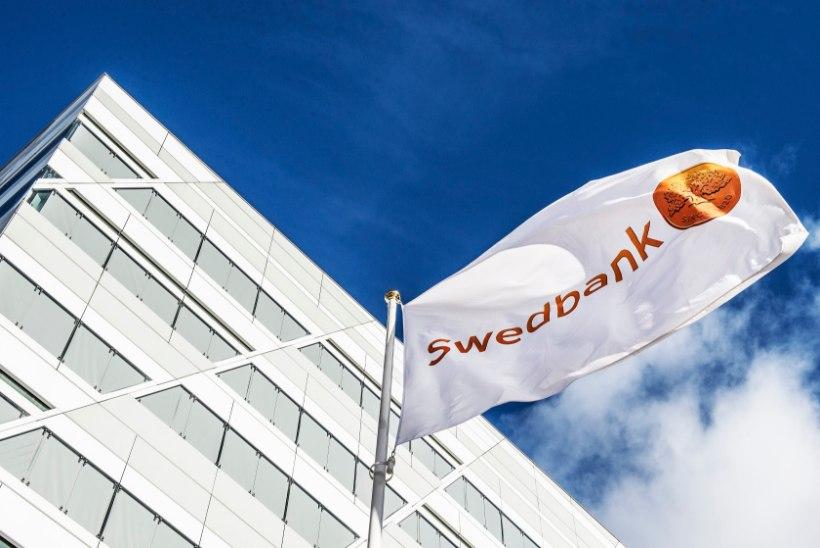 Swedbanki Stockholmi kontoris toimus haarang