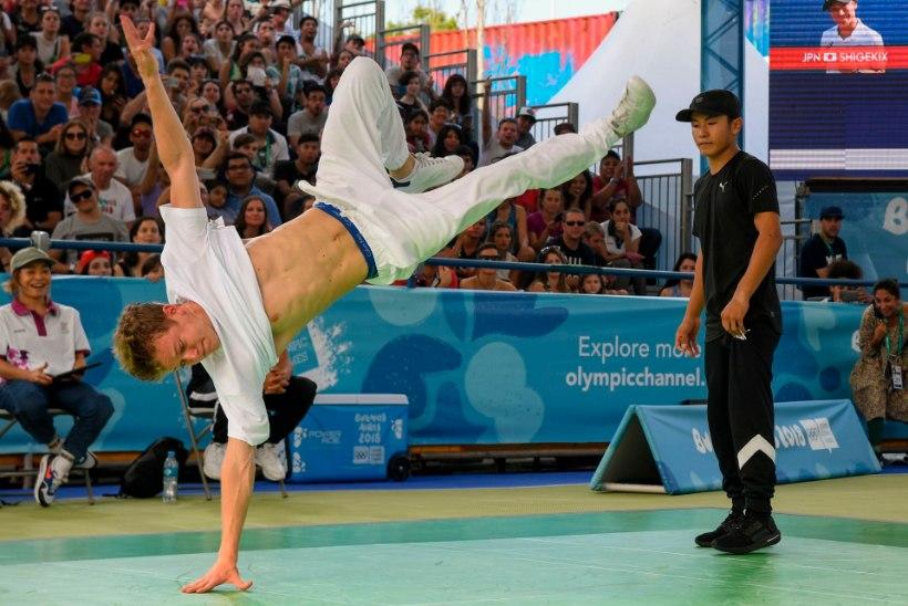 Pariisi olümpial näeb suure tõenäosusega kummalist vaatepilti: breiktantsule anti roheline tuli
