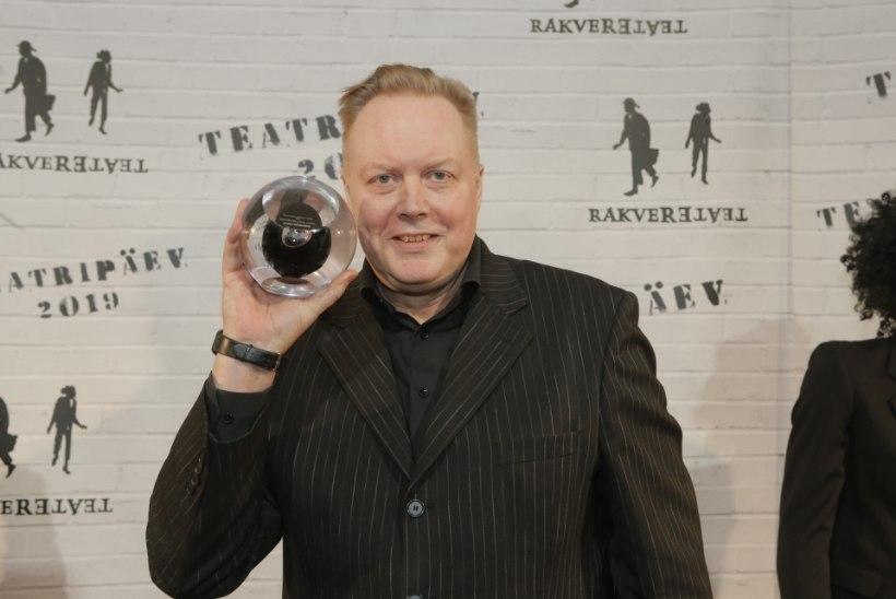 TEATRIAUHINNAD | Allan Noormets: see auhind oli tõesti väga suur üllatus, sest see oli mu esimene!