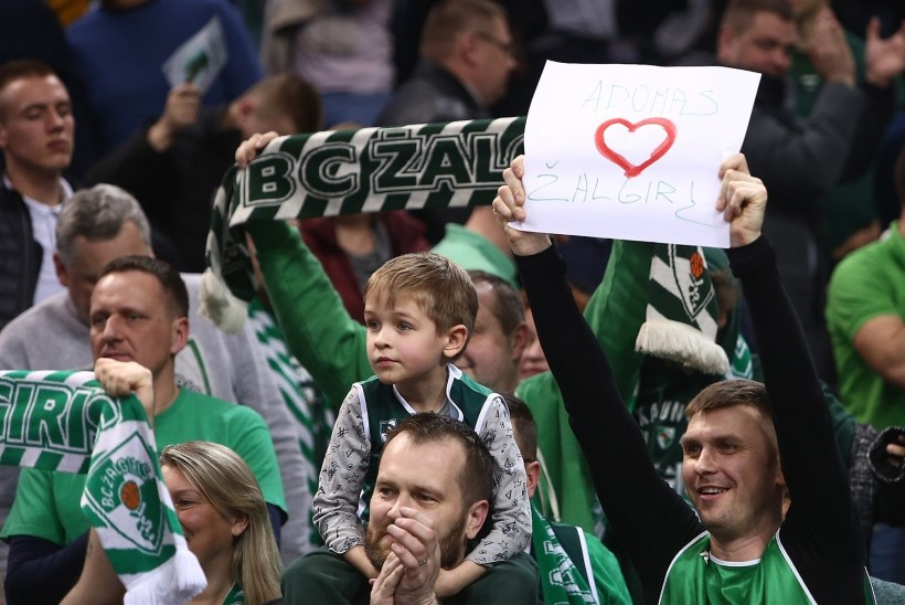 VINGE! Kaunase Žalgiris purustas Euroliiga publikurekordi, ära tehti isegi NBA klubile