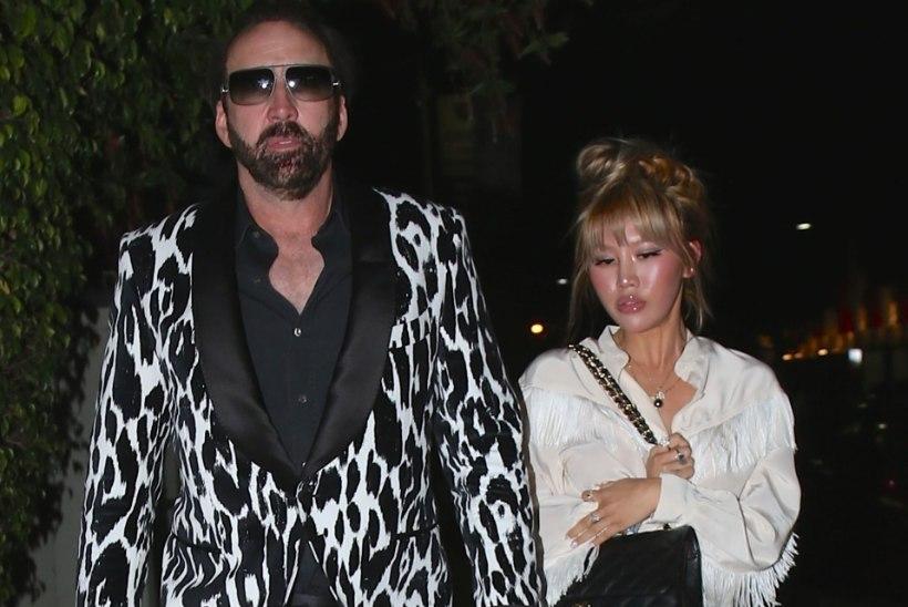 Nicolas Cage valmistub endast palju noorema pruudiga abielluma
