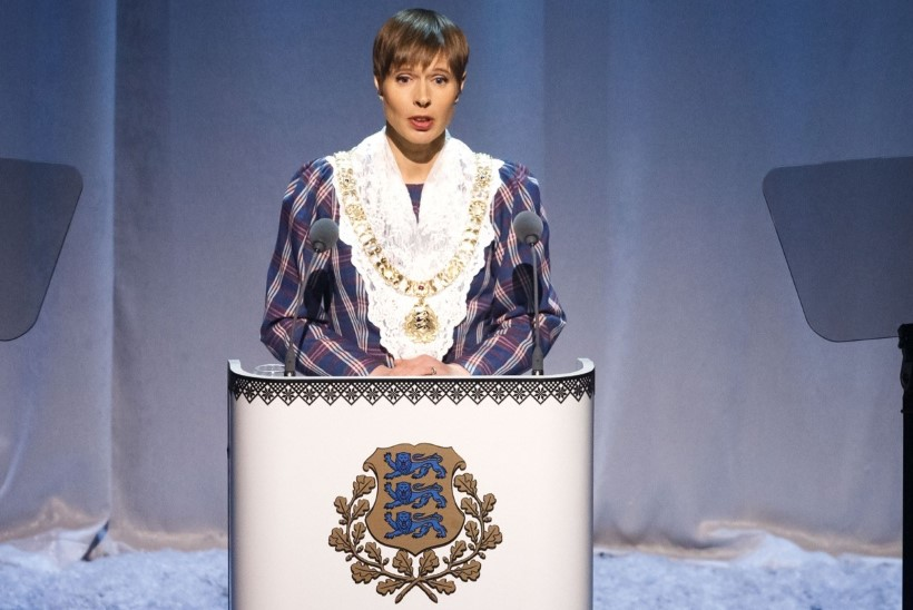 FOTO | Kersti Kaljulaid käis naiskooriga laulupeo ettelaulmisel