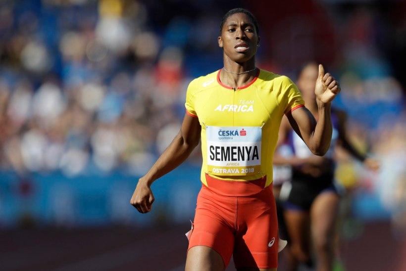 Caster Semenya: ma ei ole naiste spordile ohuks, soovin ilma eelarvamusteta joosta