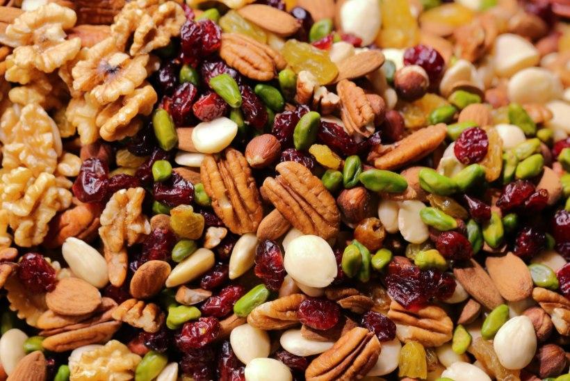Parasjagu pähkleid teeb tervisele head!