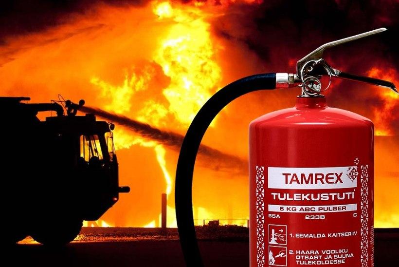 Mis päästaks tulekahju korral sinu vara?