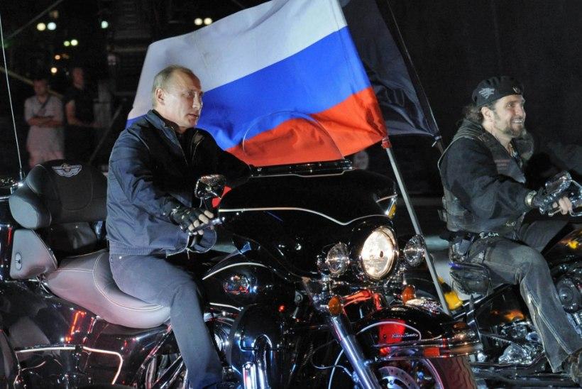 Putini soositud Vene mootorrattaklubi Öö Hundid on jõudnud Soome