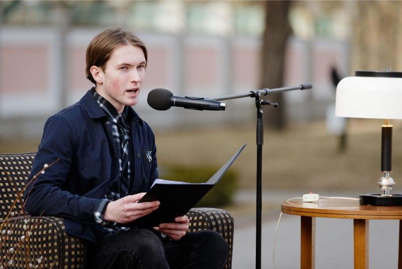 ÕL VIDEO JA GALERII   Kadriorus loeti Lennart Meri auks 90 minutit tema tekste ja mõtteid
