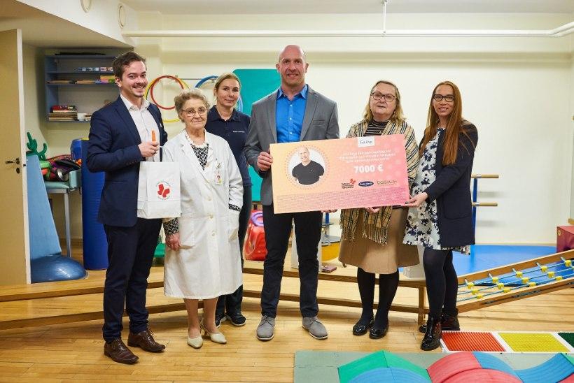 Erik Orgu aitas koguda laste ülekaalulisusega võitlemiseks 7000 eurot