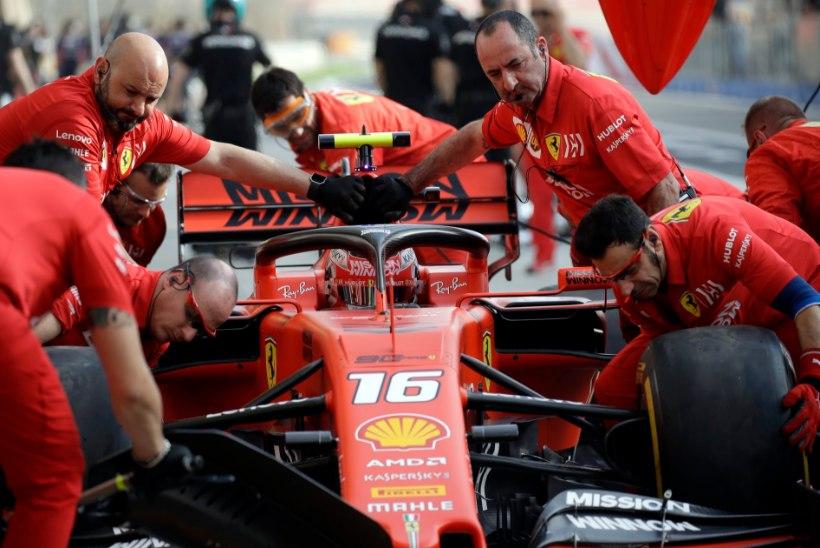 Ajalooline hetk: 21aastane Ferrari talent näitas Bahreini kvalifikatsioonis kõigile koha kätte