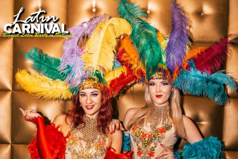 PEOGALERII | Unusta jahedad tuuled, Tallinn hõõgus Latin Carnivali kuumuses