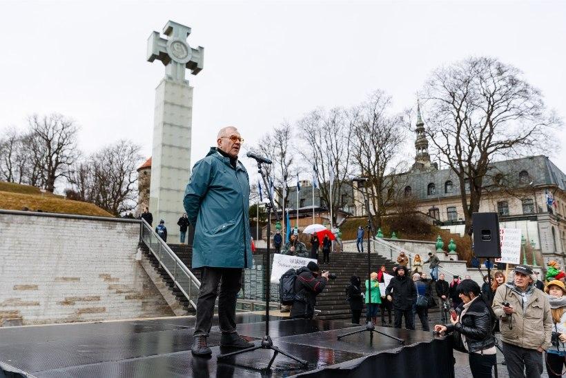 GALERII   Vaata, mis toimus Tallinnas ja Tartus peetud meeleavaldustel!
