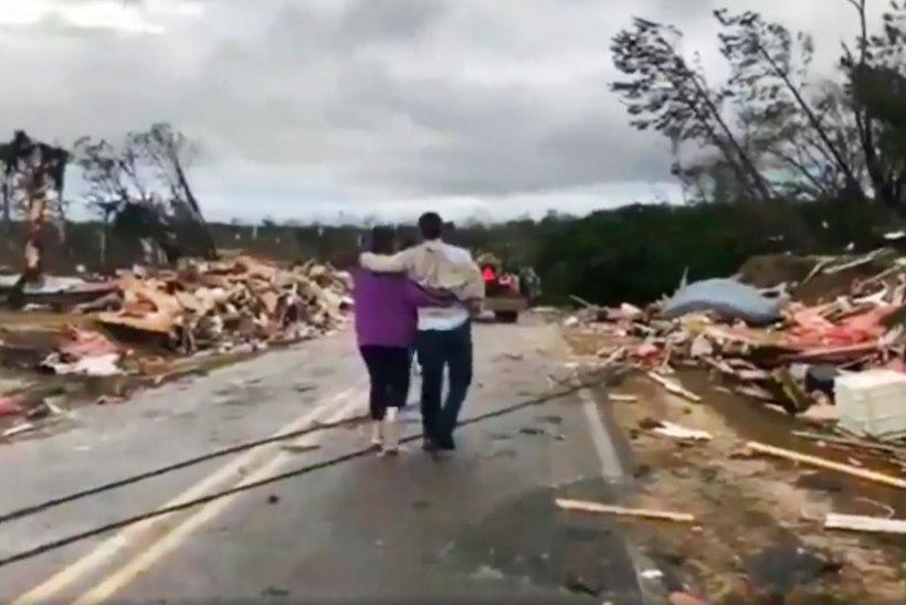 Tornaadod nõudsid USAs Alabamas vähemalt 23 inimelu