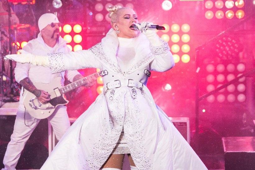 Christina Aguilera esineb suvel Soomes