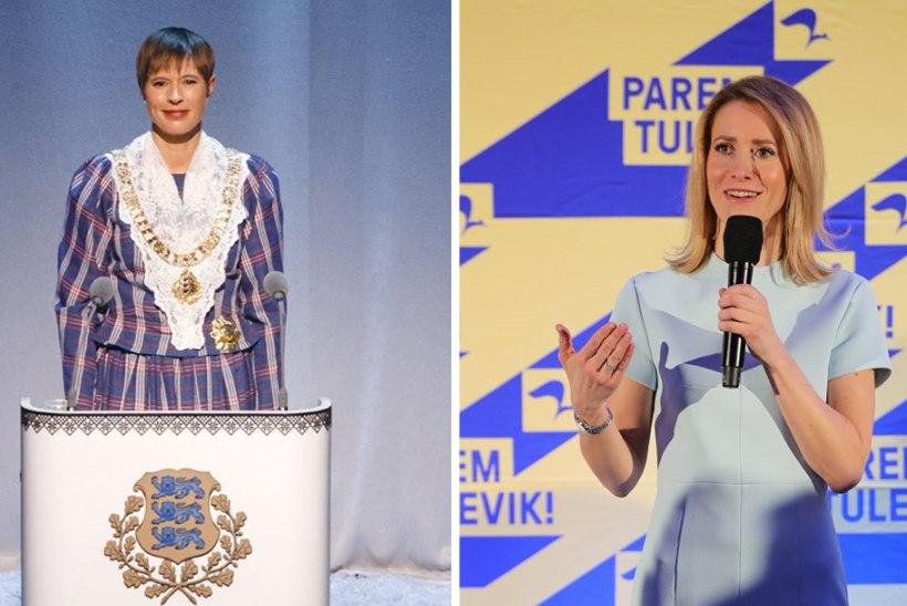 f3d334ddce2 NAISTE VÕIM: Eestist saab ainus vabariik maailmas, kus kahel kõige  mõjuvõimsamal positsioonil on naised