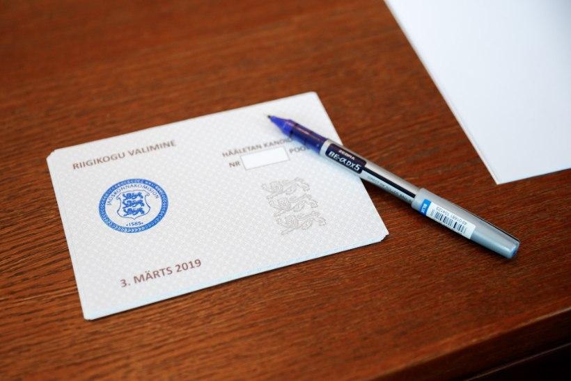 Riigikogu valimistel osales 63,7% valijatest