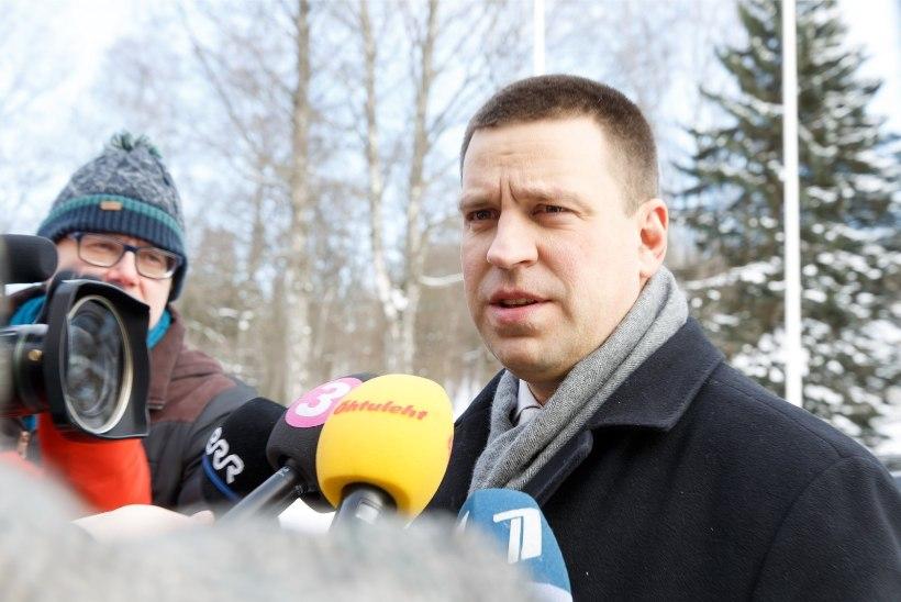 ÕL VIDEO   Jüri Ratas võimuläbirääkimistest: Reformierakond on näidanud palju topeltmängu