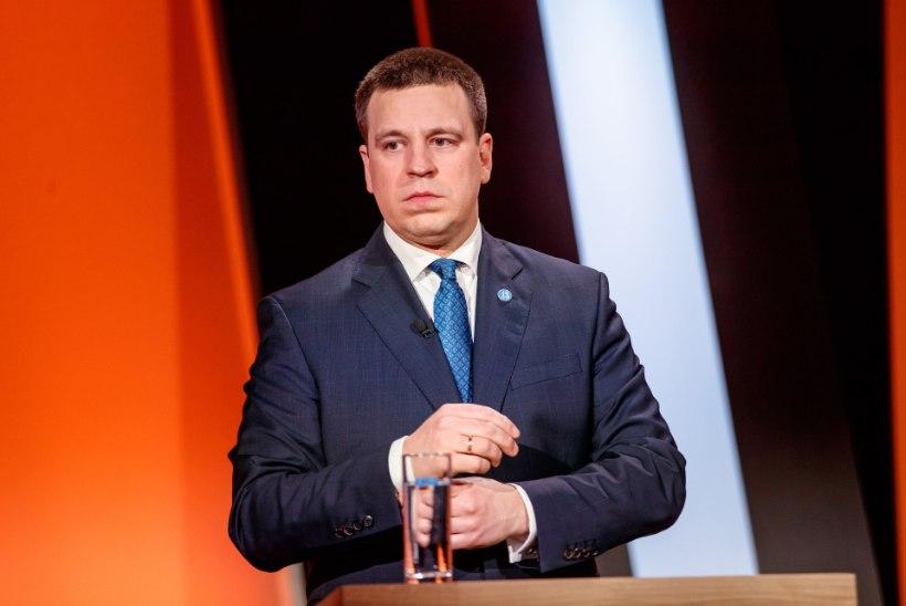 Jüri Ratas valitsusest Reformierakonnaga: me ei nõustu ebavõrdsust süvendavate maksumuudatuste ja venekeelsete koolide sulgemisega