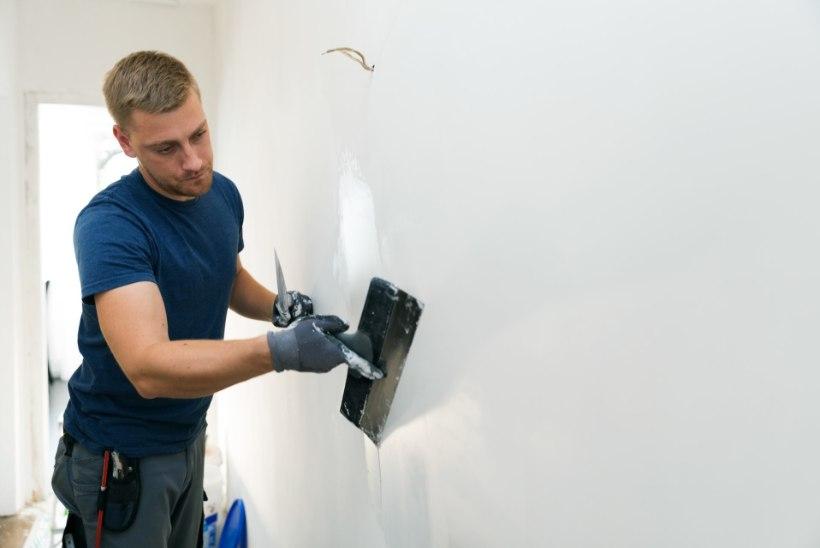 Kuidas edukalt seina krohvida?