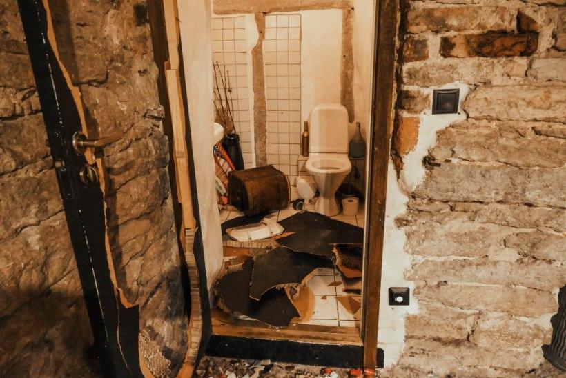 GALERII | LAAMENDAMINE VANALINNAS! Segi pekstud peopaiga omanik: hinges on lihtsalt paha tunne