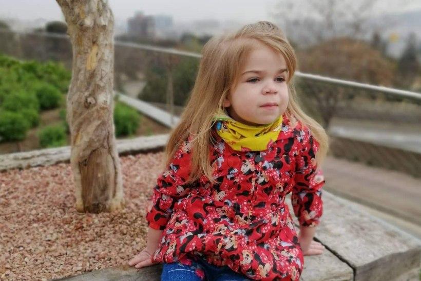 AINUS VÕIMALUS: haruldase geenihaigusega pisitüdruk sõitis Barcelonasse uuringutele