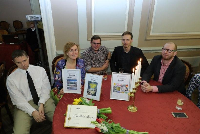 FOTOD | VAATA: Õhtuleht võitis kujunduskonkursil mitu auhinda