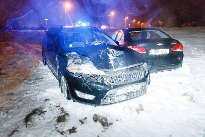 GALERII | Ettevaatust! Maanteeamet hoiatab libedate teede eest