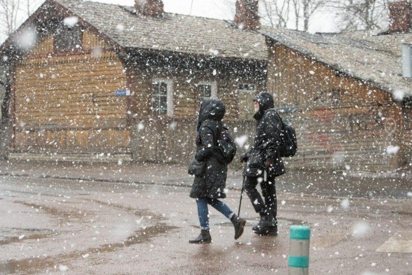 ILMAPROGNOOS | Nädalavahetus toob Eestisse vihma ja lörtsi