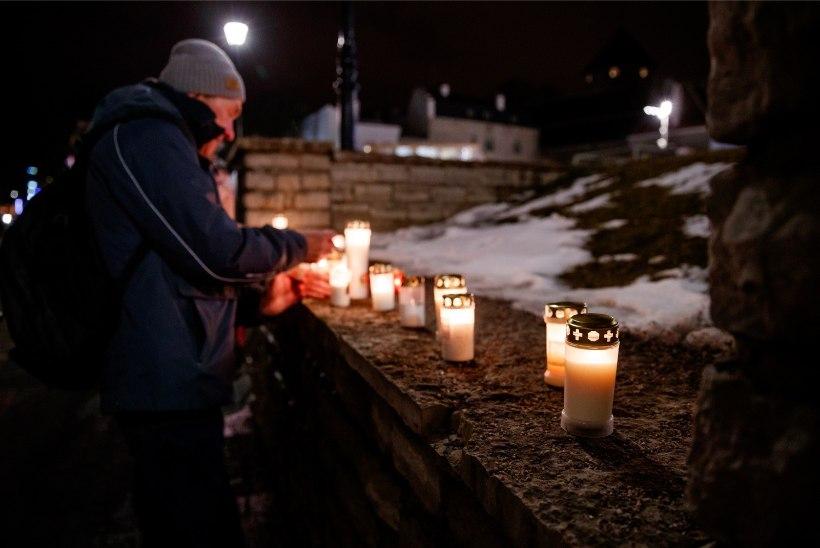 GALERII | Tallinn mälestab märtsipommitamist kunstiprojektiga