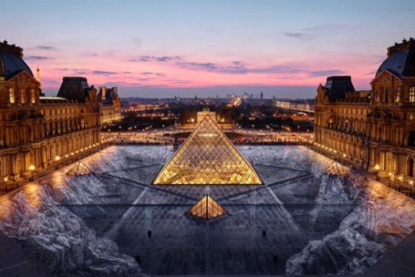 RIBADEKS! Louvre'i kaunistanud taies hävis vaid paari tunniga