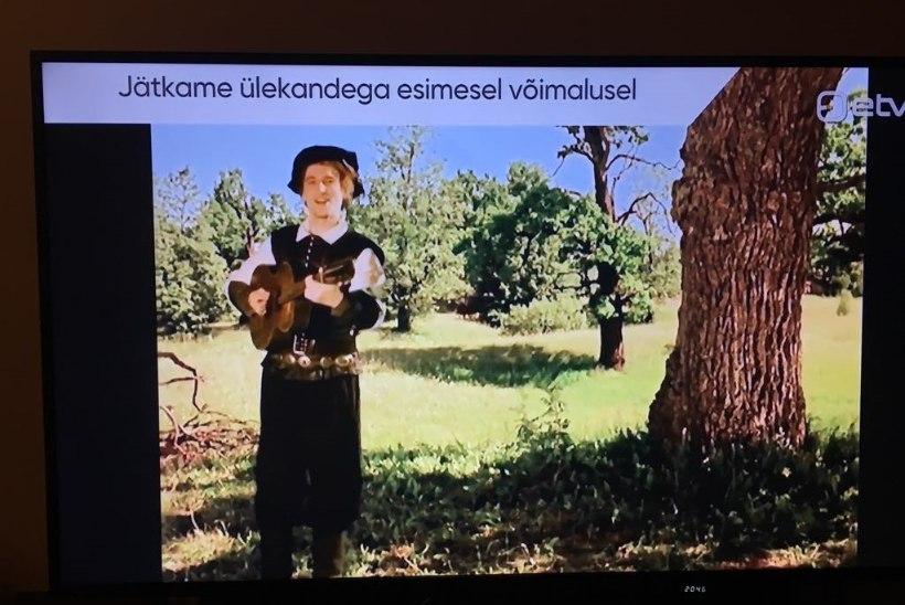 Mis juhtus? EFTA gala teleülekande pilt katkes auhinnajagamise ajal