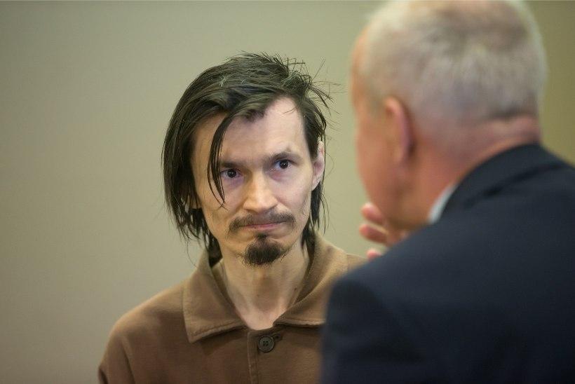 FOTOD KOHTUST | Sarimõrvar Ustimenkot süüdistatakse vangivalvuri mõrvakatses ja kaasvangide ründamises