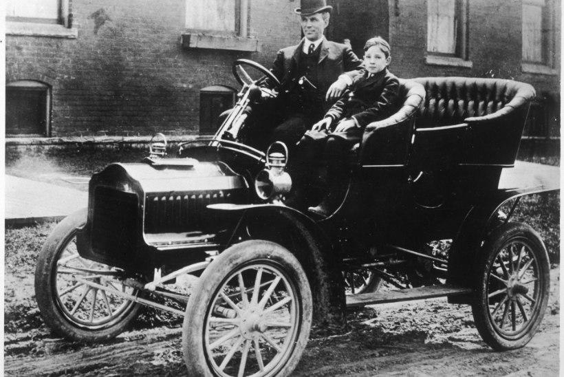 Autode lapsepõlve iseloomustas täielik anarhia