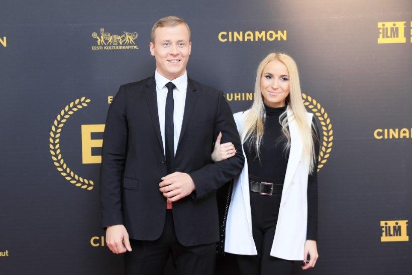 GALERII | Kodumaised tipptegijad saabusid Eesti filmi- ja teleauhindade galale