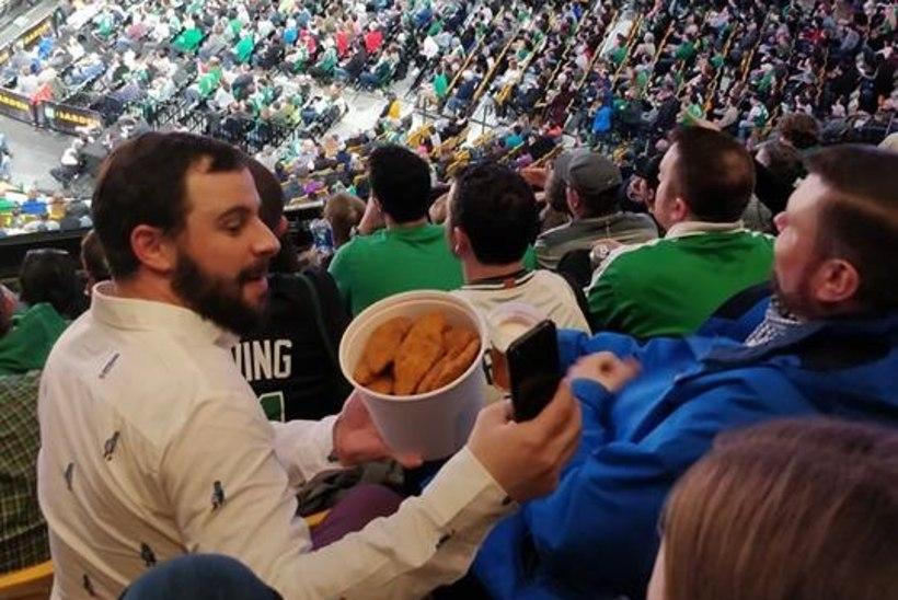 """Magamatuna NBA-mängul täiesti viimases reas: """"Imelik lugu meie Celticsiga"""""""
