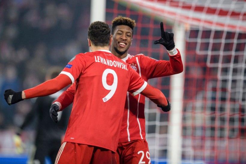 TOHOH! Bayerni vutistaarid lõi teineteist rusikaga näkku