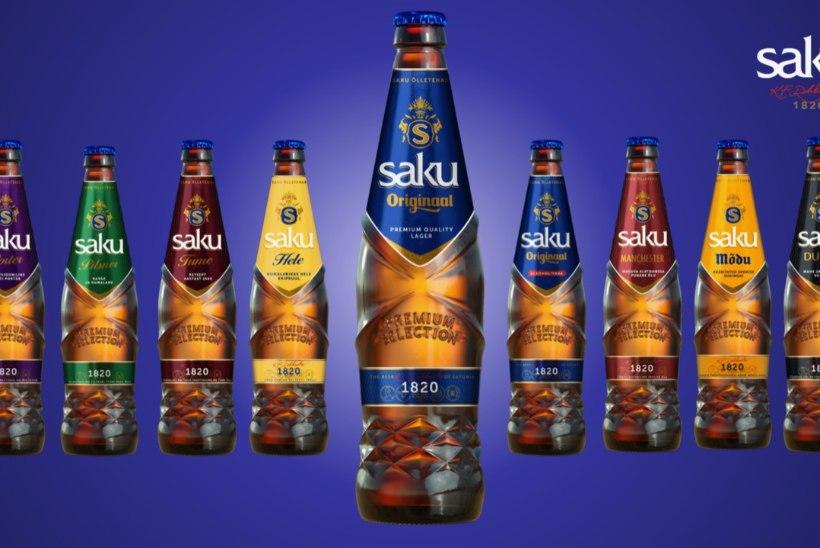 Saku hakkab õlut villima uude ja senisest kergemasse pudelisse