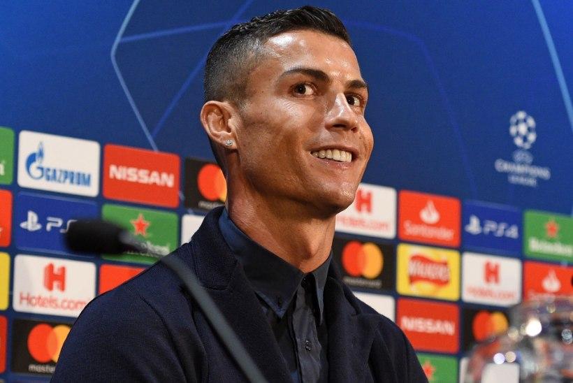 VIDEO   ARMAS: Cristiano Ronaldo näitab ülbetele spordistaaridele koha kätte!