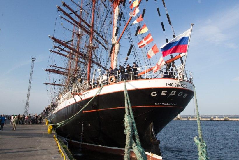 Eesti ei lubanud Vene purjelaeva oma vetesse, kuna pardal olid Krimmi ülikooli kursandid