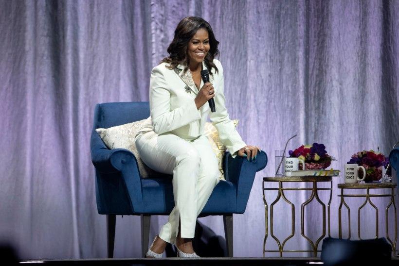 Michelle Obama kandis raamatuturneel kostüümi, mille võid endale hankida ka sina!