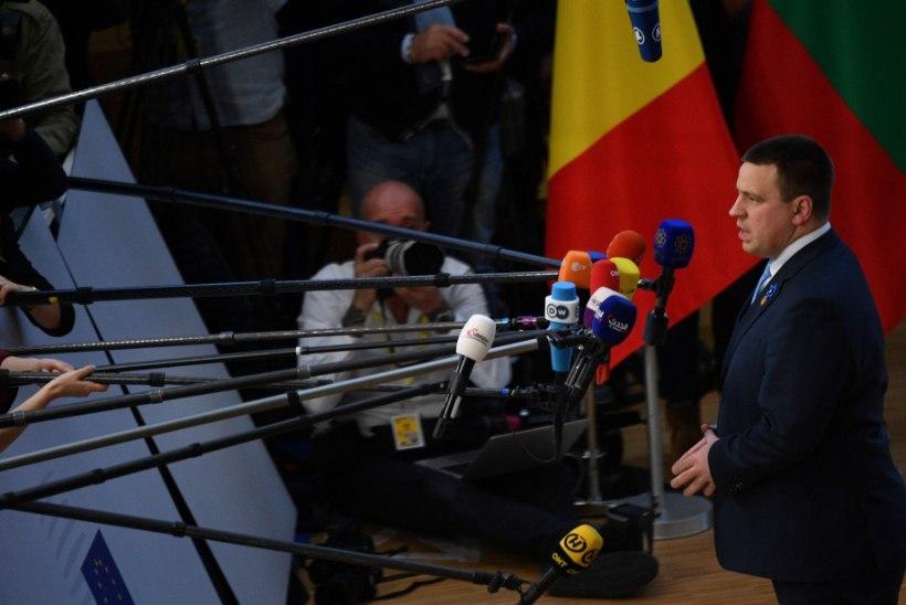 Jüri Ratase lend pidi tehniliste rikete pärast Brüsselisse tagasi pöörduma