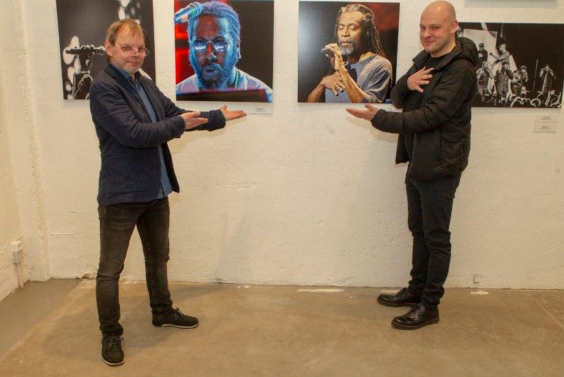 GALERII | Telliskivi Loomelinnakus avati Jazzkaare 30. sünnipäevale pühendatud näitus