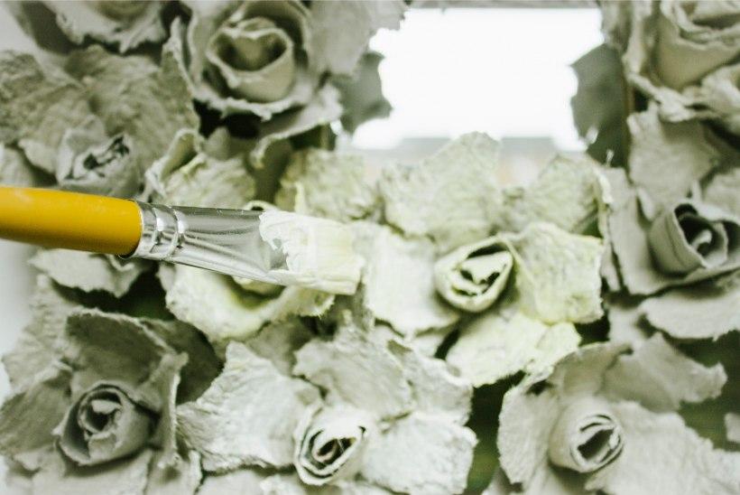 Ohhoo! Romantiline pildiraam munakarpidest
