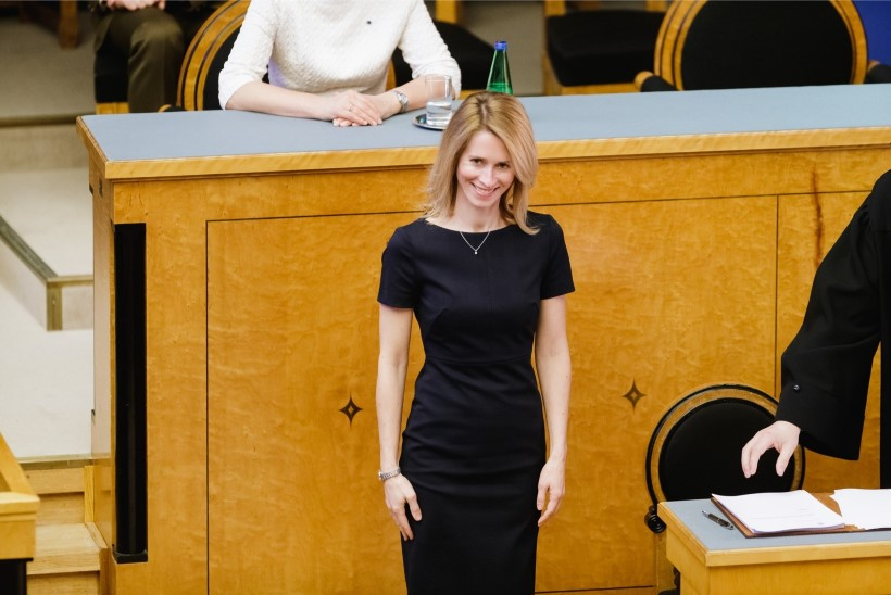 Kaja Kallas esmaspäeval keskerakondlaste häältele ei looda