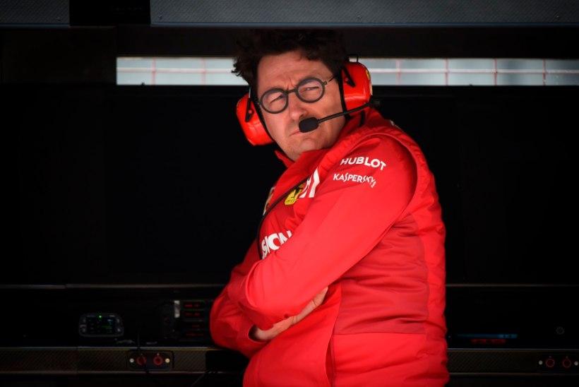 Ferrari boss tõrjub süüdistusi: me ei eelistanud üht sõitjat teisele